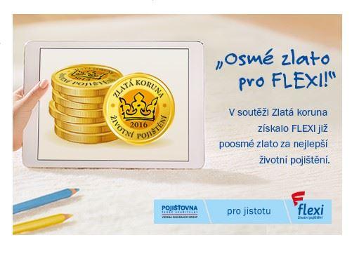 10d9ad37b FLEXI životní pojištění znovu vítězem Zlaté koruny – už poosmé ...